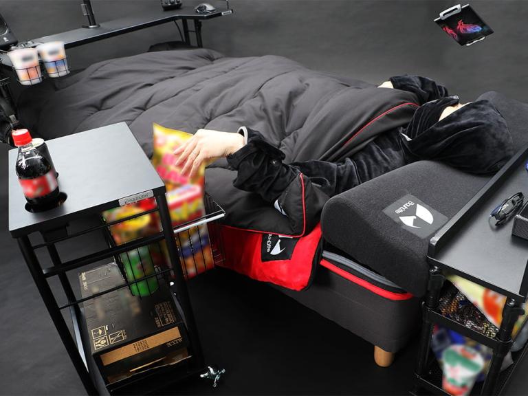 Gaming Desk terlalu Mainstream, kini ada Tempat Tidur Gaming