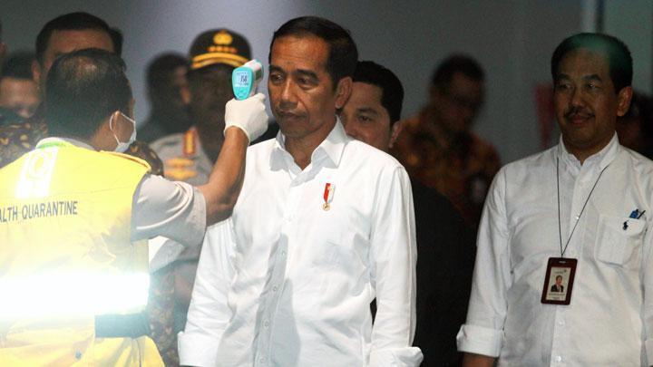 Presiden Jokowi Belum Terpikir Melakukan Lockdown untuk Indonesia