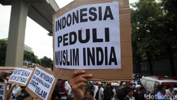 PA 212-FPI Kembali Berunjuk Rasa di Depan Kedubes India Siang Ini