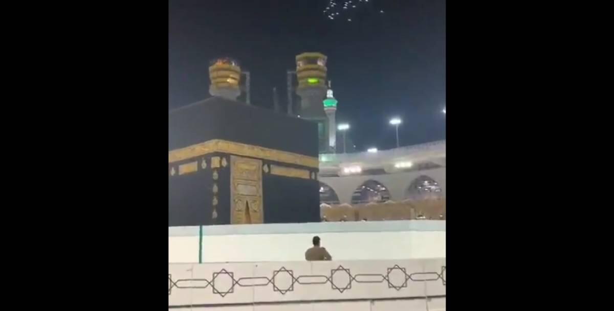 Viral dan Heboh Video Terbaru Kumpulan Burung Terbang Mengelilingi Ka'bah (Thawaf)