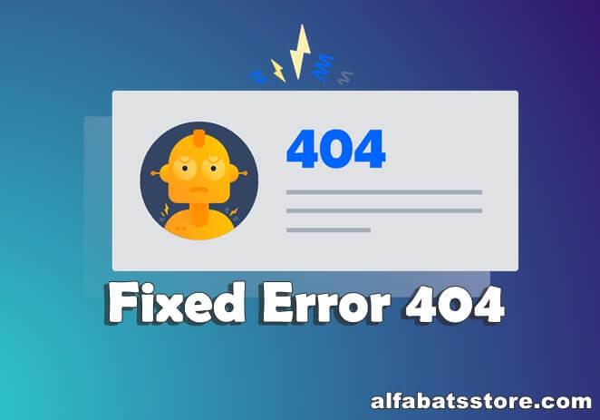 Cara Mengatasi Error 404 Pada Web