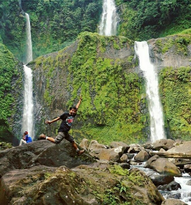 [ COC Regional : Lokasi Wisata ] Air Terjun Curug Sembilan Bengkulu Utara