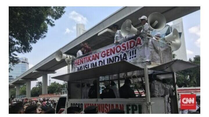 Massa Demo Doakan India Kena Azab Wabah Virus Corona
