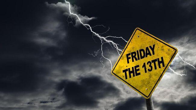 Kesialan yang menyertai hari Jumat 13 (Friday the 13th)
