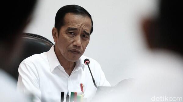 Banyak Negara Lockdown karena Corona, Jokowi: Belum Berpikir ke Sana