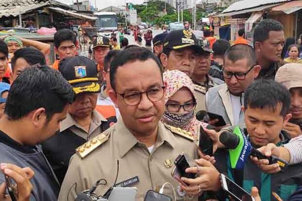 Anies Tegaskan Tak Akan Lockdown Jakarta
