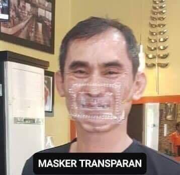 Karena Corona, Terciptalah Masker Ini, Dari Bikin Seger Ampe Bikin Baper. Yuk Intip!
