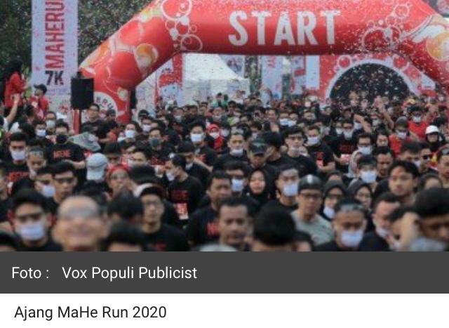 1.200 Pelari Ramaikan MaHe Run Jakarta