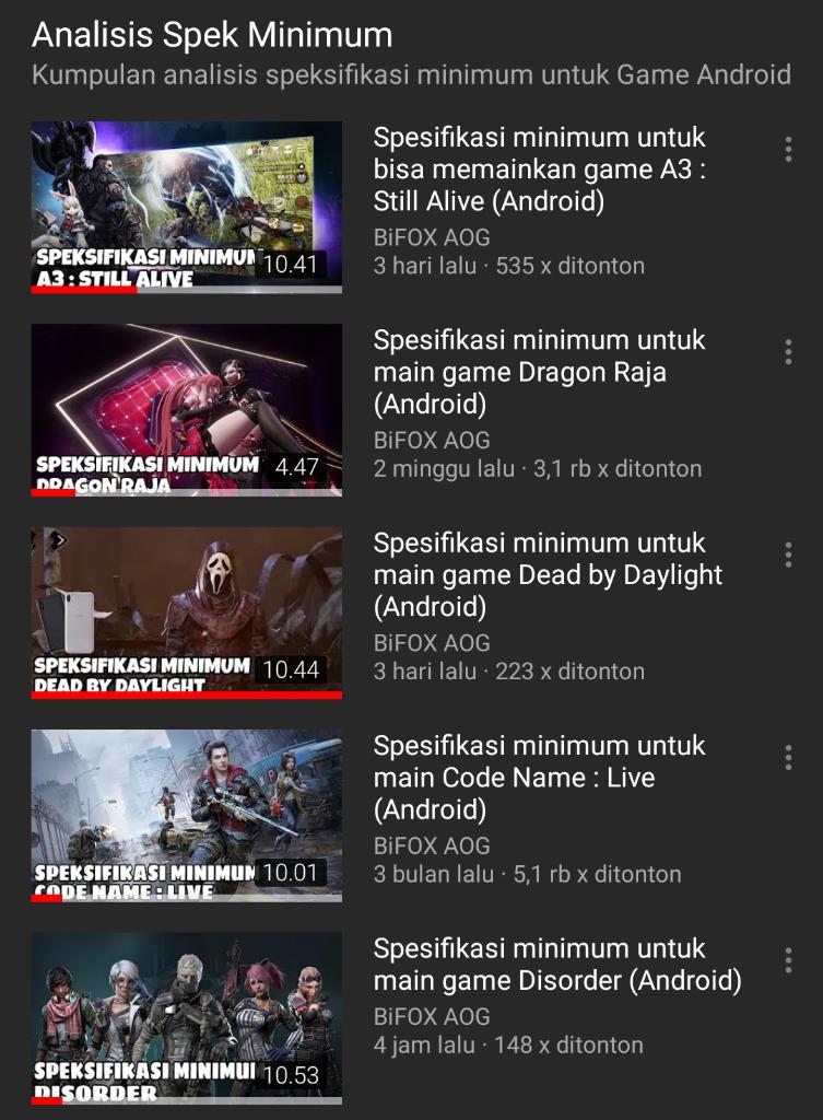 Memperkenalkan BiFOX AOG YouTube Channel kepada Bro n Sis
