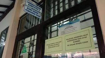 Tetap Gelar UNBK Saat Wabah Corona, SMK N 1 Bantul Sediakan Hand Sanitizer