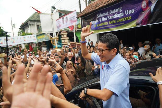 Tanpa Nama Prabowo, Sandiaga Uno Capres Terkuat di Pilpres 2024
