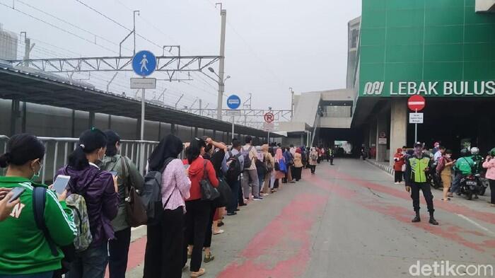 Antrean Penumpang TransJ Mengular Parah, Ketua DPRD Kritik Kebijakan Anies