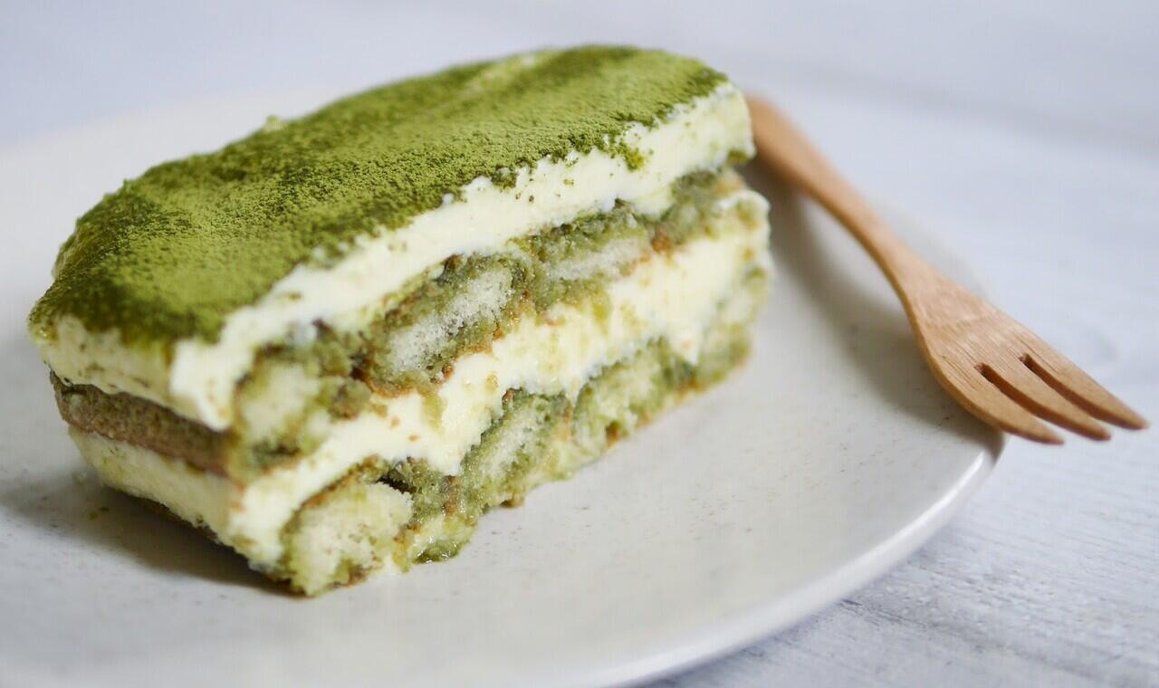 Tiramisu Green Tea (Matcha) Enak Banget