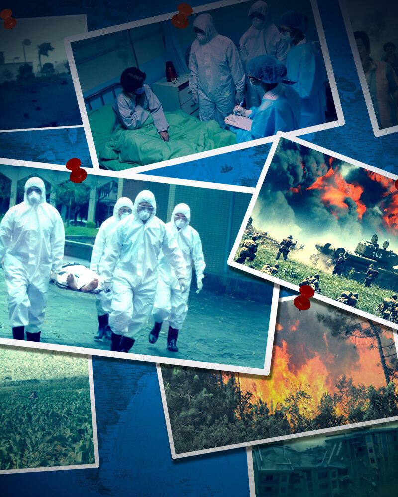 Alarm akhir zaman: bencana adalah peringatan Tuhan bagi manusia