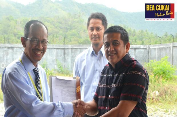 Bea Cukai Aceh Berikan Izin Kawasan Berikat ke PT Pasha Jaya