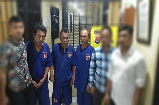 Puluhan Kali Beraksi di Banten, Sembilan Pencuri Ini Dibekuk Polisi