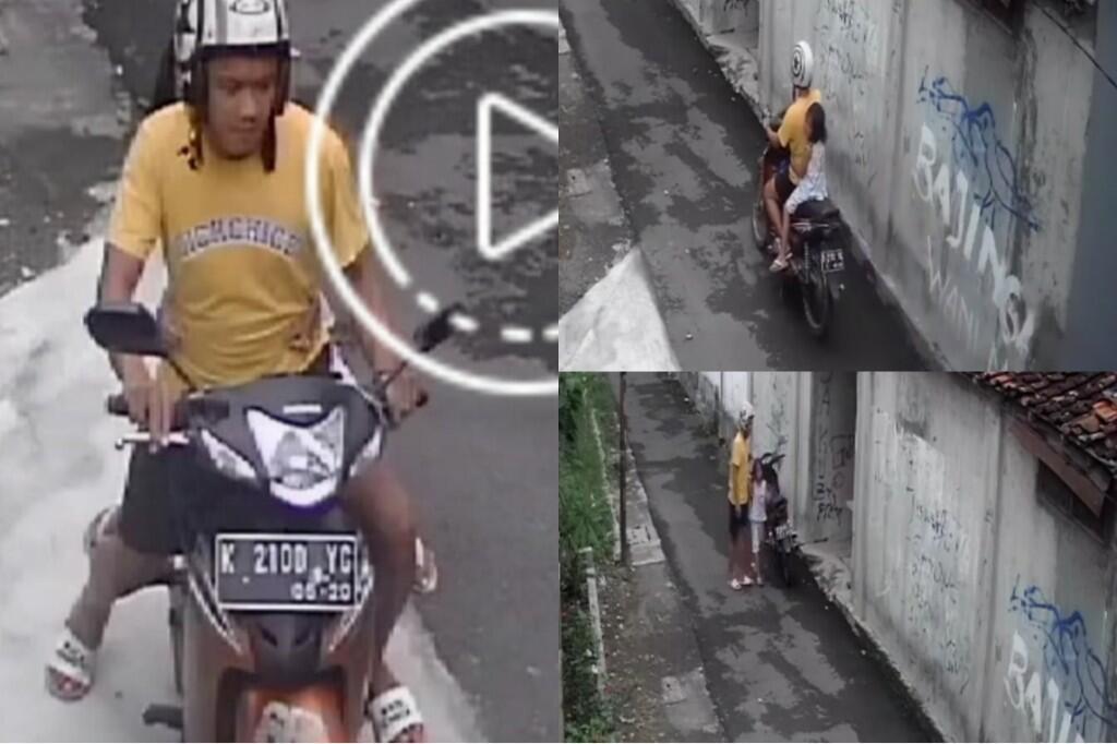 Ditangkap! Pemotor di Yogya yang Diduga Culik dan Lecehkan Bocah di Gang Sepi