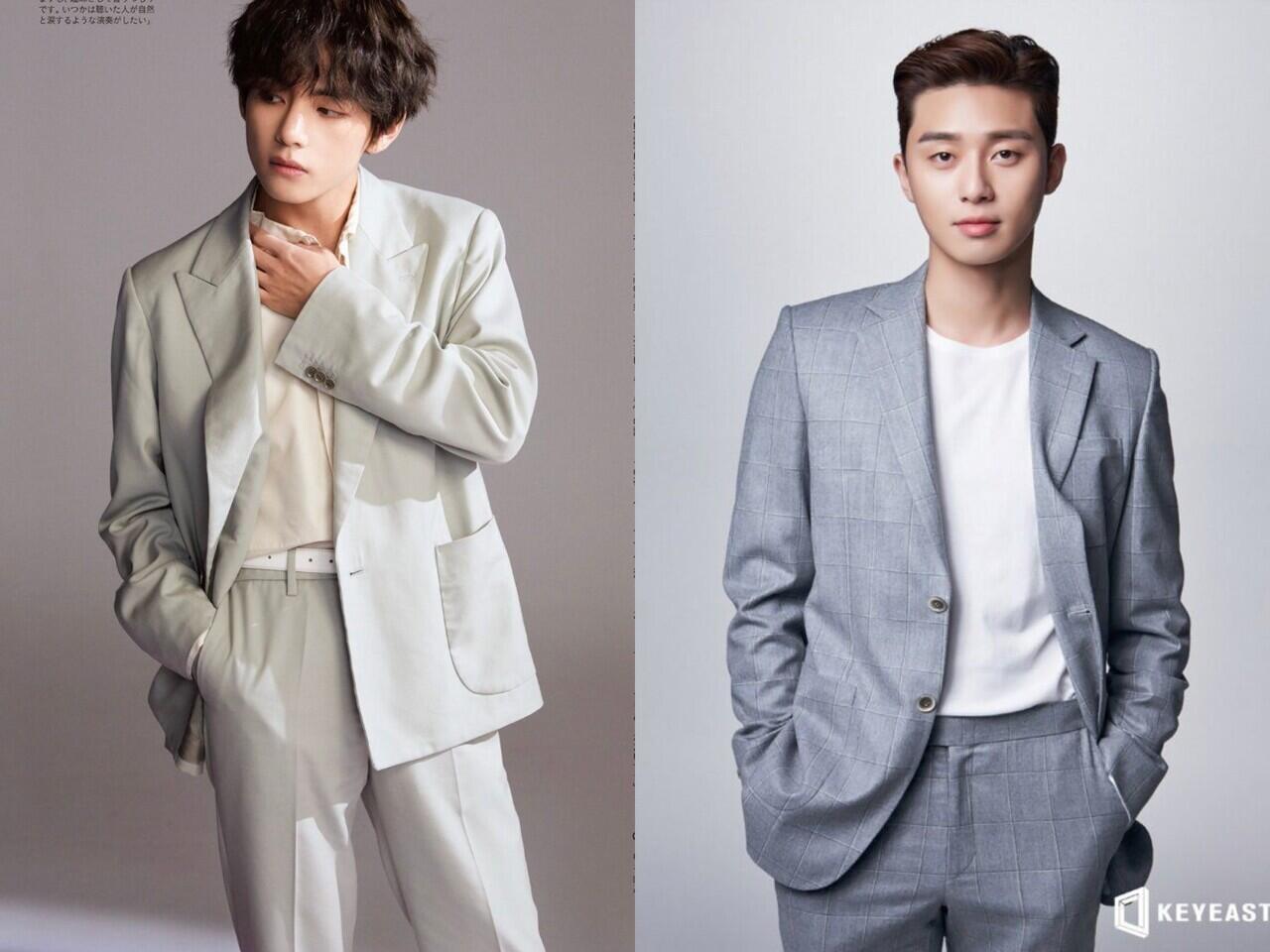 V Bts Kunjungi Park Seo Joon Di Set Drama Itaewon Class Kekoreaan