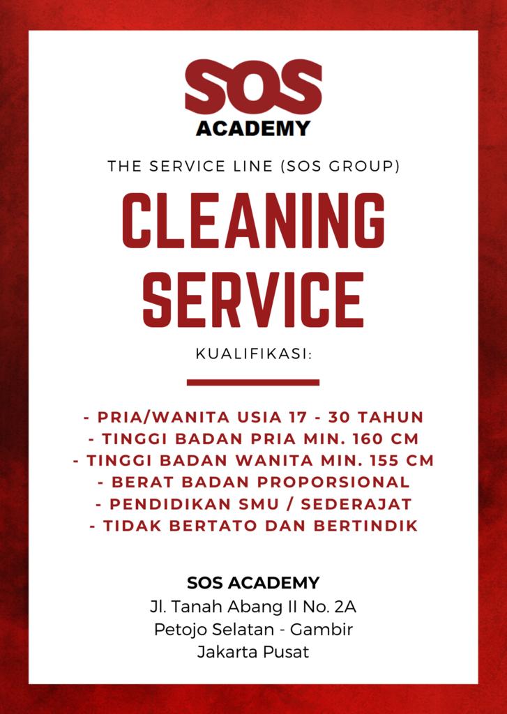 LOWONGAN KERJA CLEANING SERVICE TERBARU MARET 2020 (JAKARTA)