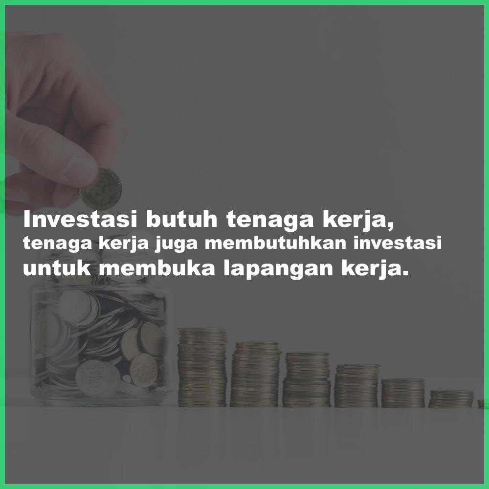 Omnibus Law Saling Menguntungkan Untuk Investasi dan Tenaga Kerja