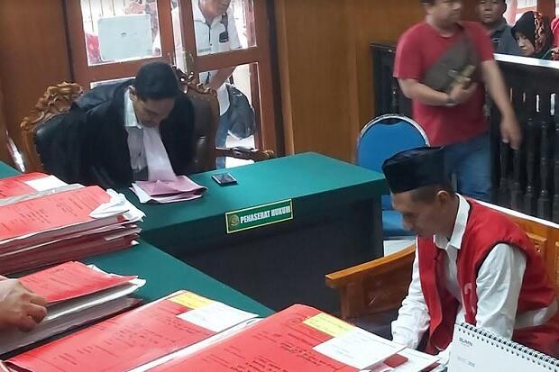 Tega Bakar Istri Sendiri, Maspuryanto Diganjar 7 Tahun Penjara