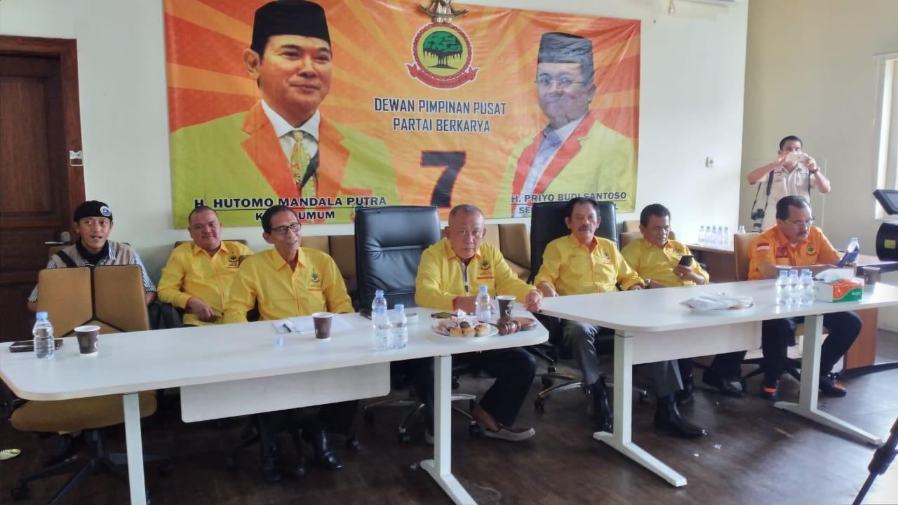 Partai Berkarya Menolak Adanya Presidium Penyelamat Partai Berkarya
