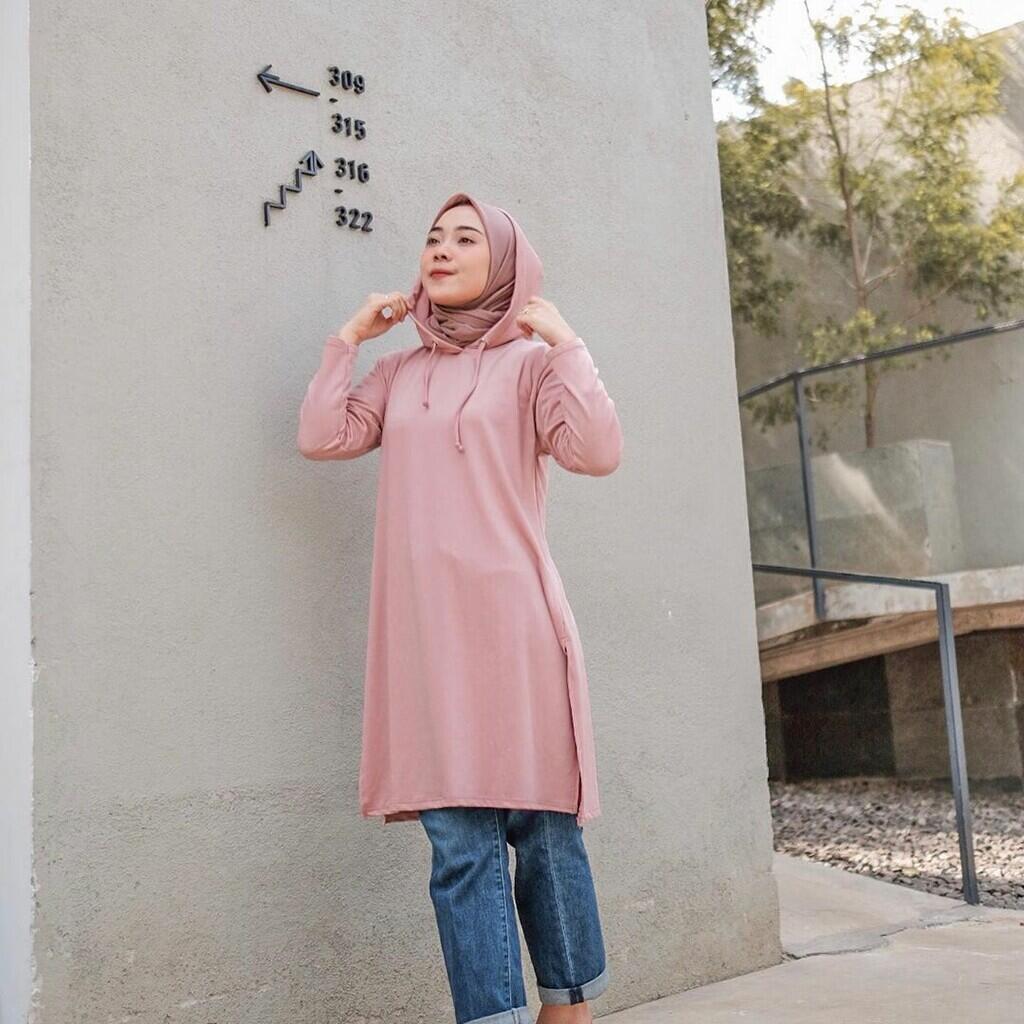 Inspirasi Style Hijab dengan Baggy Pants , Kekinian dan Stylish