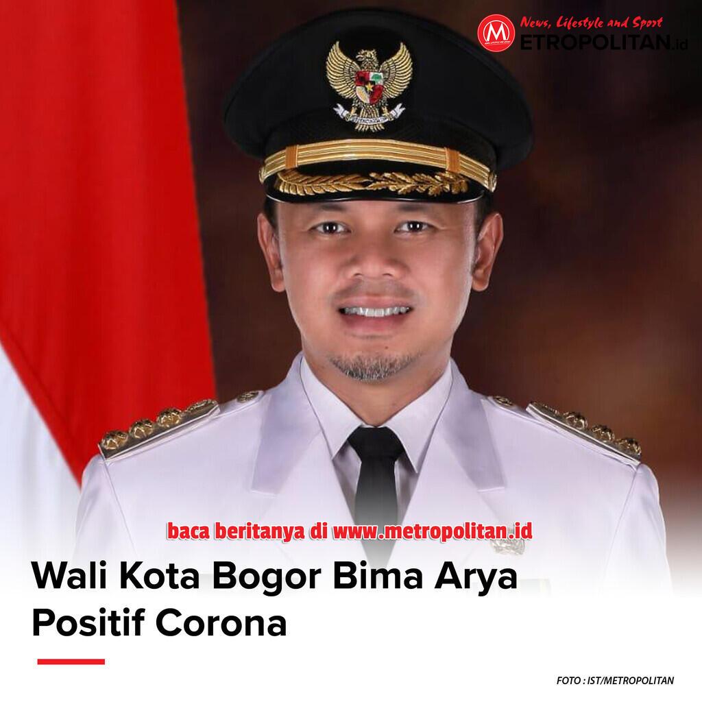 Wali Kota Bogor Bima Arya Positif Corona