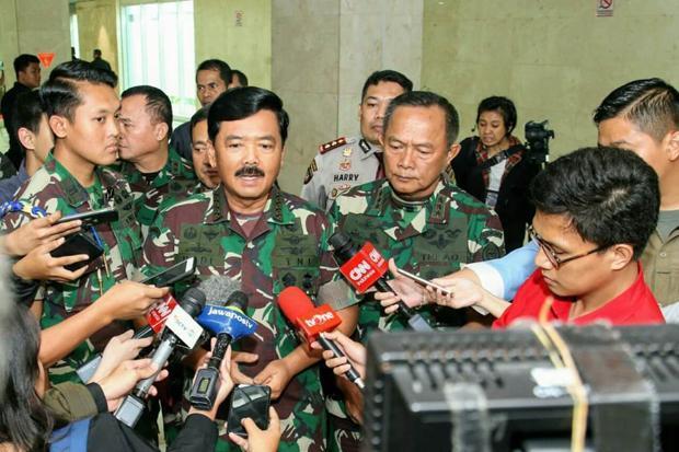 Panglima TNI Mutasi 28 Perwira Tinggi