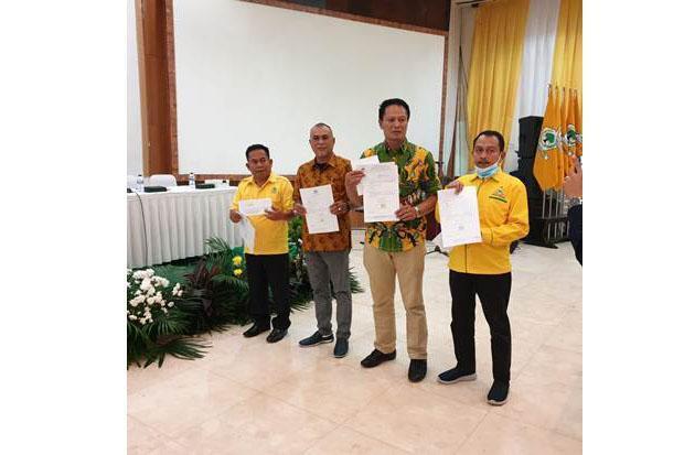 Yaumil Ambo Djiwa Ditetapkan DPP Golkar Calon Bupati Pasangkayu 2021-2026