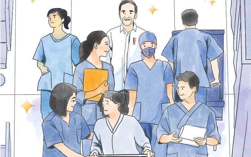 Dear Dokter dan Perawat! Terima Kasih, Kalian Sungguh Mulia Bekerja Tanpa Kenal Lelah