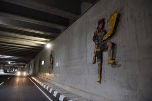 Underpass Terpanjang Indonesia Bertema Kearifan Lokal