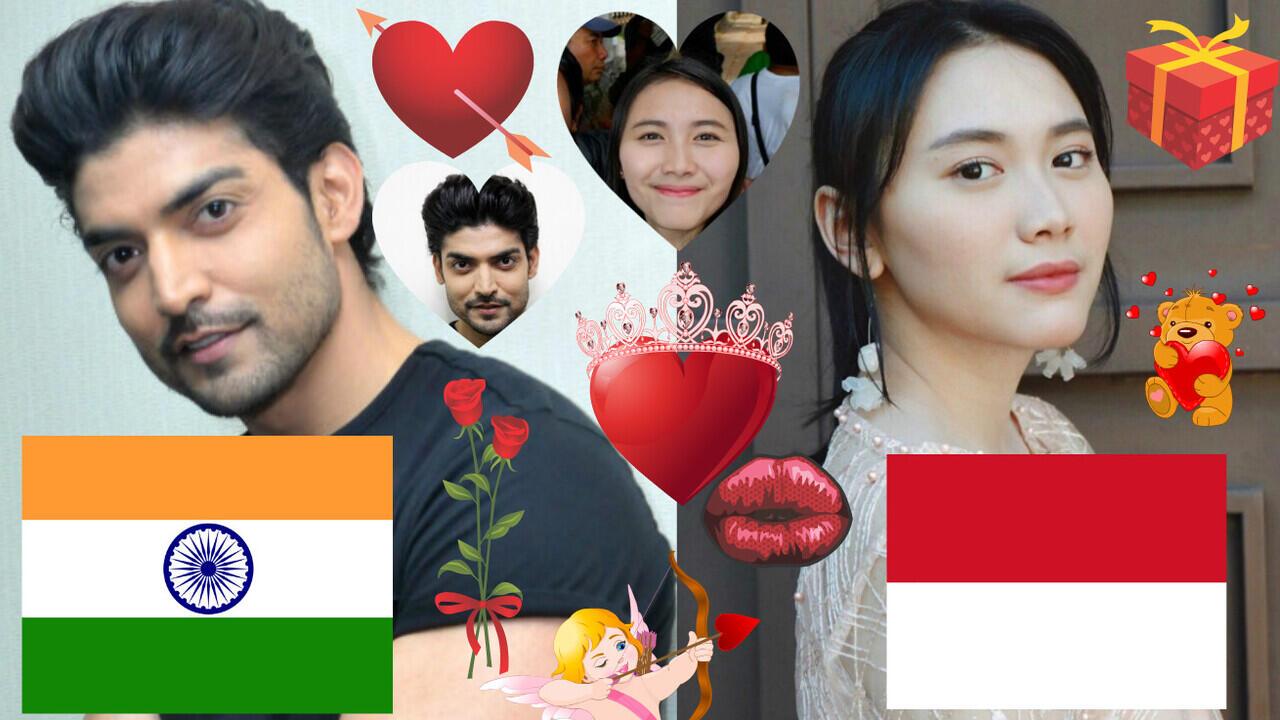 Gurmeet Choudhary Dan Marsha Risdasari Dedeh Kusnandar Love Story India Indonesia🇮🇳🇮🇩