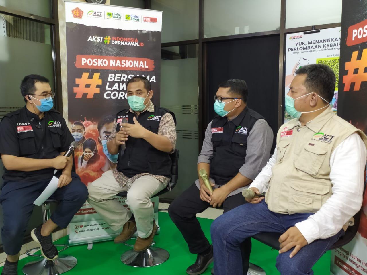 Aksi Nyata untuk Masyarakat Indonesia melalui Posko Nasional Bersama Lawan Corona