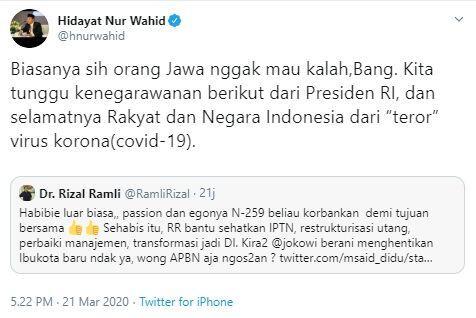 Hidayat Nur Wahid Bilang 'Orang Jawa Tak Mau Kalah', Warganet: Rasis