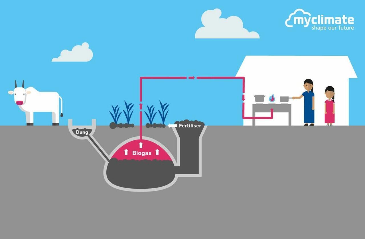 Biogas, Sumber Energi Alternatif