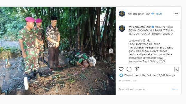 Sujud di Kuburan, Bahtiar Lulus Jadi Prajurit TNI AL saat Ibunda Meninggal