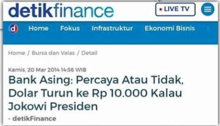BREAKING NEWS: Nilai Tukar Rupiah Anjlok Lagi, di Bank Dijual Rp 16.800