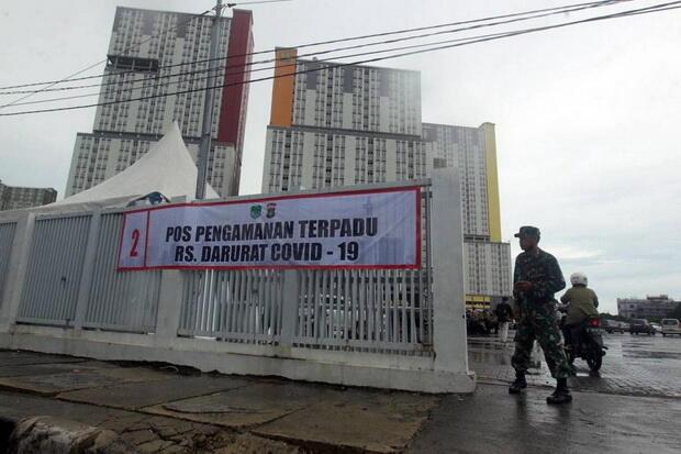 RS Darurat Wisma Atlet Beroperasi Hari Ini, Erick Thohir: Terbagi 3 Zona