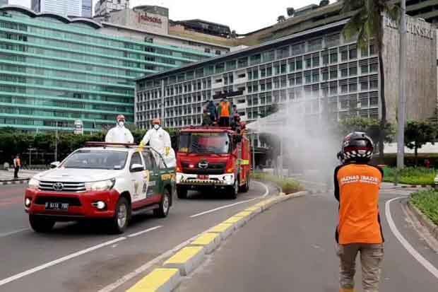 DPRD DKI Minta Penyemprotan Disinfektan Dilakukan Rutin di Lokasi Prioritas