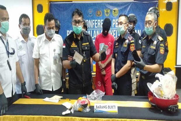 Polisi Gagalkan Penyelundupan Panci dari Malaysia Berisi 1 Kg Sabu