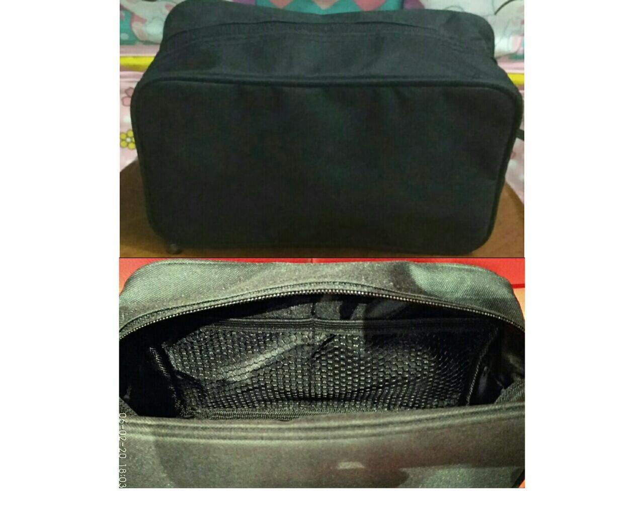 Clutch (Multigender Handbang) & Pouch (Toilettries Bag) By DBY Bags