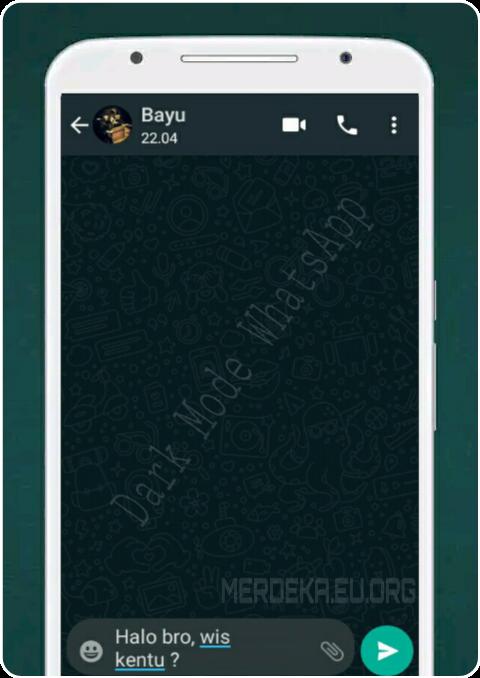 Cara Mengaktifkan Dark Mode WhatsApp di Android