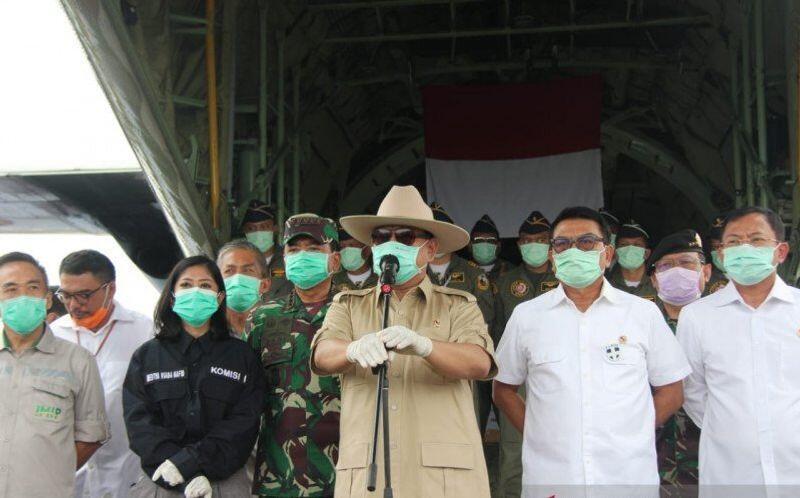 Menhan Prabowo: China Tawarkan Bantuan Penanganan COVID-19