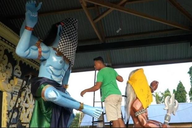 Cegah Corona, Upacara Pengurupukan Umat Hindu di Baubau Batal Digelar