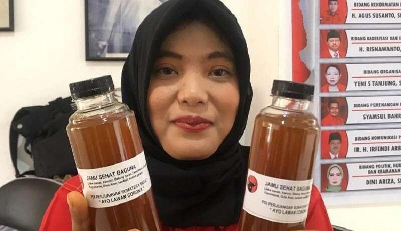 Di Padang, Jamu Jokowi Ludes Diserbu Warga
