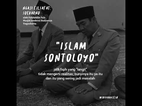 Presiden Sukarno Merangkak Hampiri Makam Rasulullah SAW, Dan Islam Sontoloyo