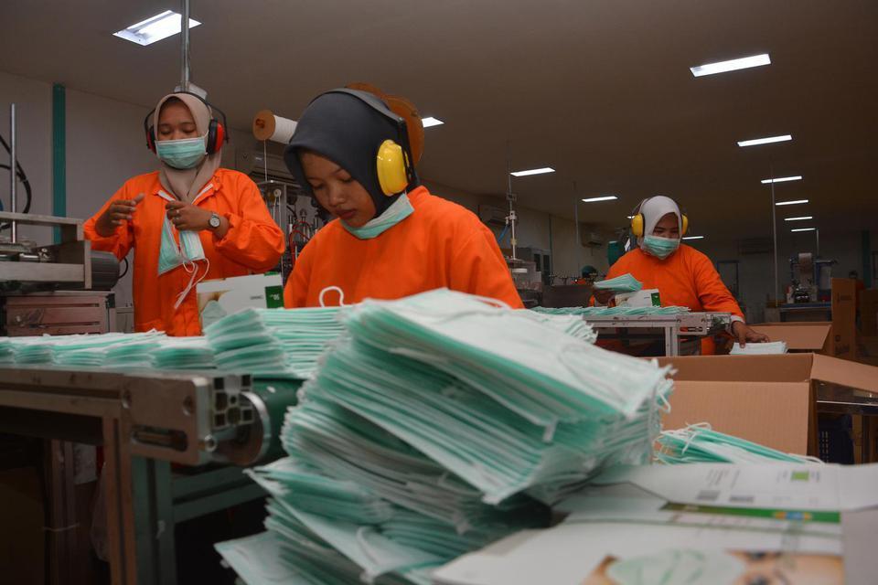 Pemerintah Batalkan Rencana Ekspor Ratusan Ribu APD ke Korsel