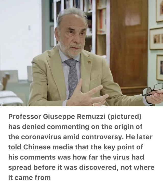 Media Pemerintah China kaitkan asal usul virus corona dengan Italia