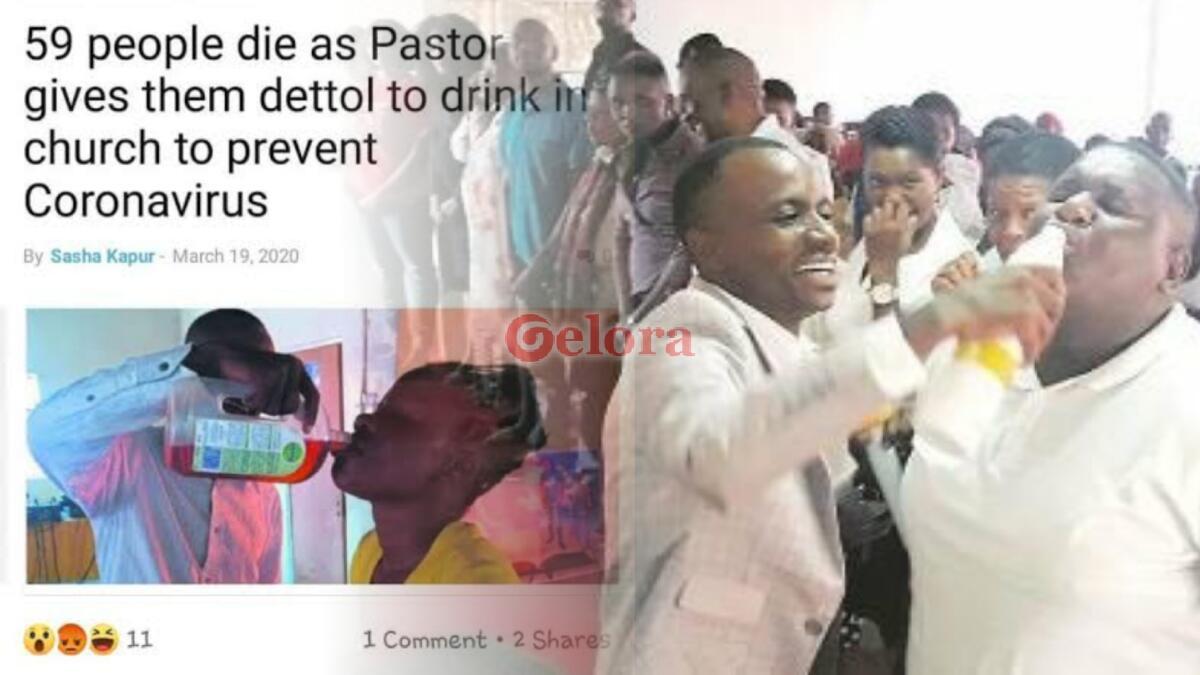 Ikuti Pendeta Minum Dettol Agar Kebal Corona, Puluhan Orang Tewas